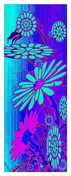 Blue Flowers by Ck Gandhi
