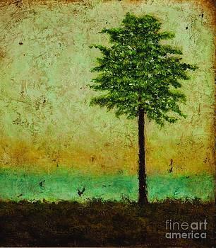 Blue Horizon two by Sandra Dawson