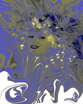 Blue Lady by Doris Wood