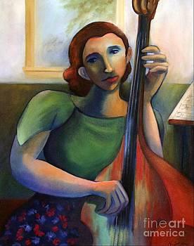 Blue Lady by Noel Sandino