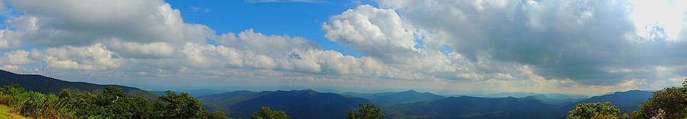 Blue Ridge Mountains by Judy  Waller