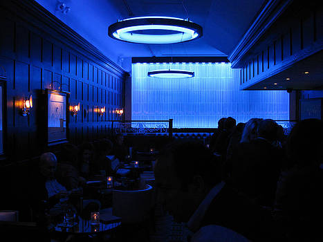 Blue Room - NYC by Paul Thomas