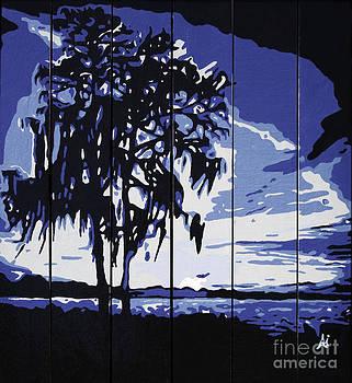 Blue Sunset by Alyson Innes