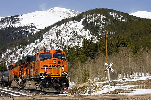 Steve Krull - BNSF rolls through Rollins Pass Colorado