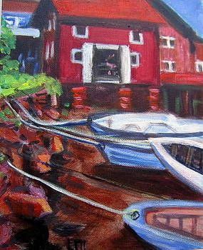 Boats  At Rest by Lia  Marsman