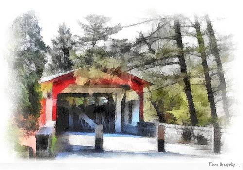 Bogerts covered bridge by Dave Hrusecky