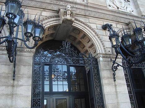 Boston Public Library  by Christine Corretti