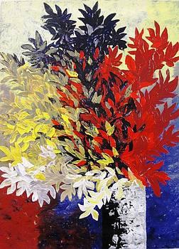 Bouquet of petals by Shilpi Singh