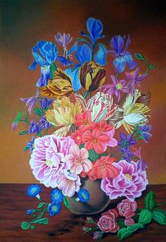 Bouquet by Zdzislaw Dudek