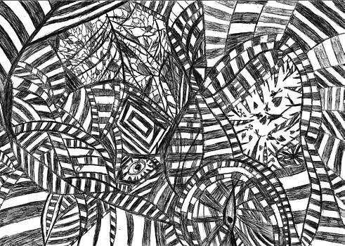 Brain Depth  by Ro Van den A