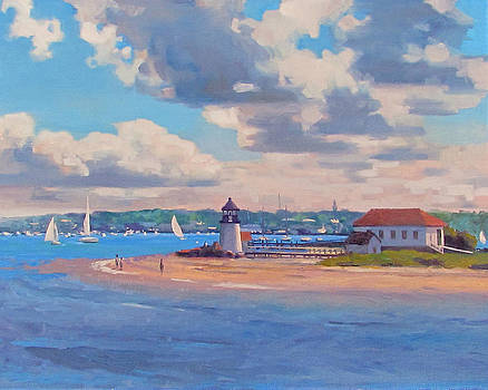 Brant Point by Dianne Panarelli Miller