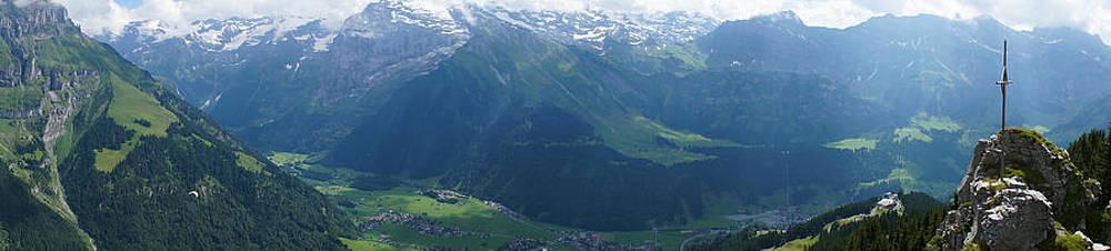 Breathtaking Brunni Switzerland by Arylana Art