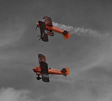 Breitling Wingwalkers by Simon Hackett