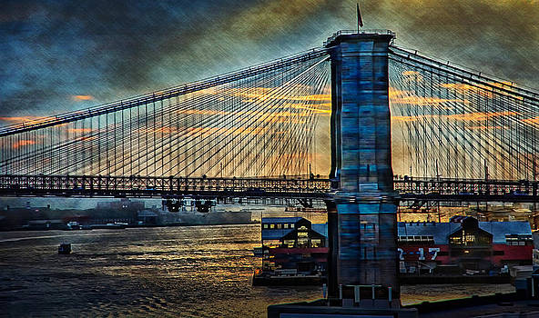 Brooklyn Bridge by Esther Branderhorst