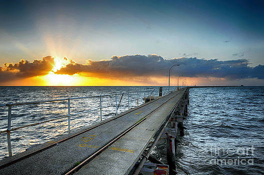 Busselton Jetty by Yew Kwang