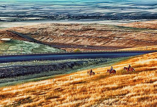 Cabbage Hill Pendleton Oregon by Michael Rogers