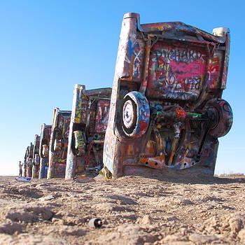 Cadillac Ranch by Keith May