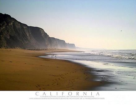 California Shoreline by Kimberly Blom-Roemer