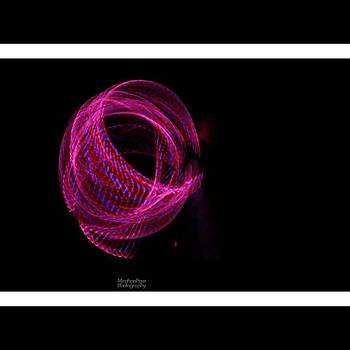 #canonsl1 #hulahoop #lighttrails by Meg Pace