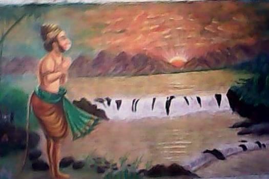 Canvas Oil painting by Artist Nandakumar Chinchkar