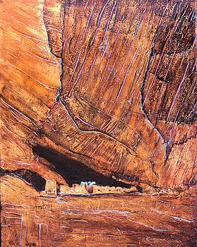 Canyon De chelly by JAXINE Cummins