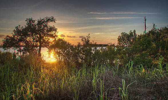 Cape Fear Sunset by Phil Mancuso