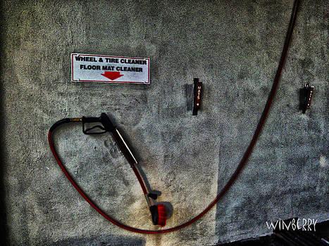 Car Wash Hose by Bob Winberry