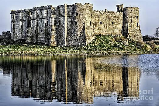 Steve Purnell - Carew Castle Reflections