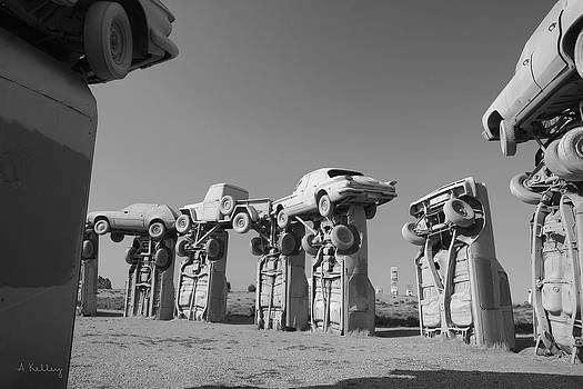 Carhenge by Andrea Kelley