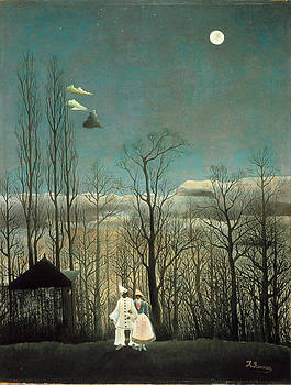 Henri Rousseau - Carnival Evening