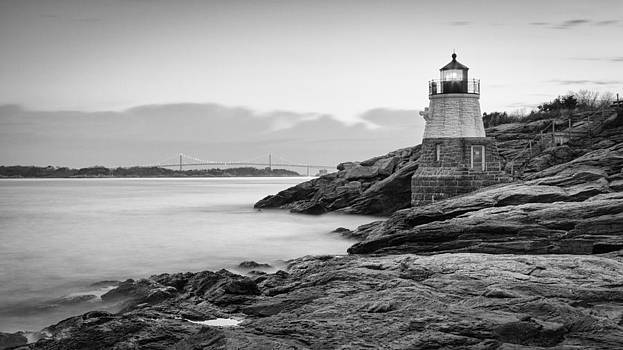 Castle Hill Lighthouse at Sunrise by Joshua McDonough