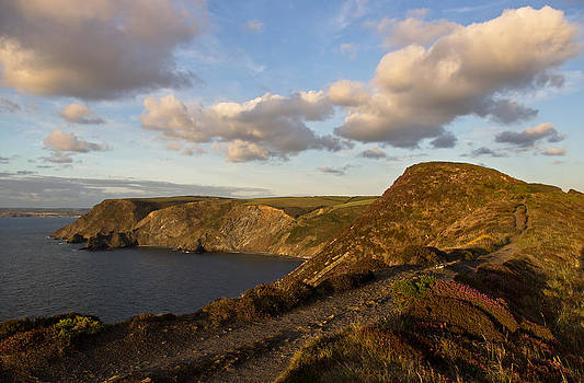 Castle Point in North Cornwall by Pete Hemington