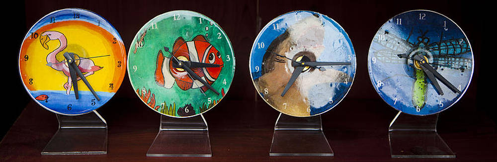 CD Clocks For Sale by Fred Hanna