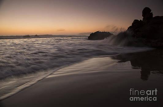 Central Coast Sunset by Jose M Beltran