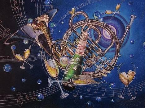 Champagne Waltz by Steven Gutierrez