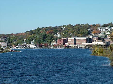 Chelsea Harbor in Fall by Geoffrey McLean