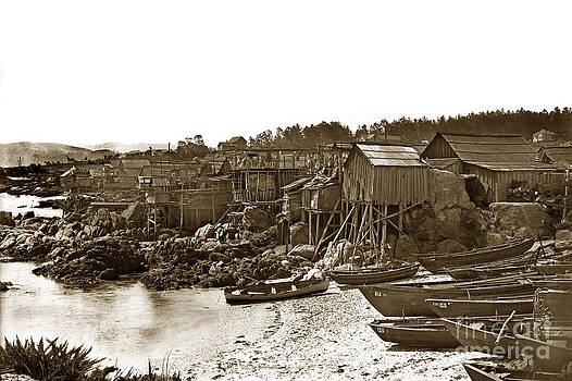 California Views Mr Pat Hathaway Archives - Chinese fishing village Pacific Grove California  circa 1897