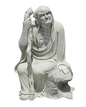 Chinese God Sculpture by Pong Am