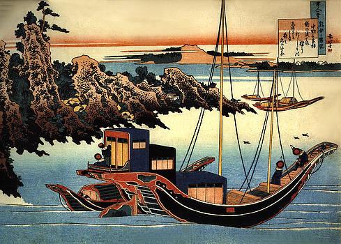 Chunagon Yamamoch by Katsushika Hokusai