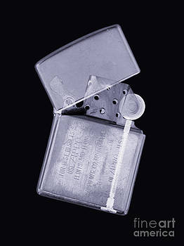 Mark Sykes - Cigarette Lighter Simulated X-ray