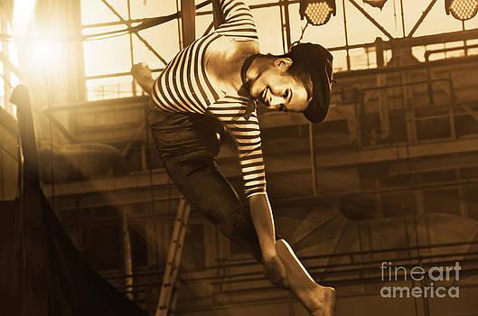 Circus Performer by Sarah Mullin