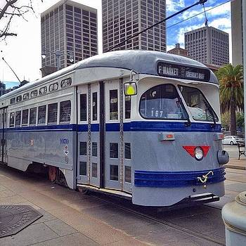 Classic Transportation In San by Karen Winokan