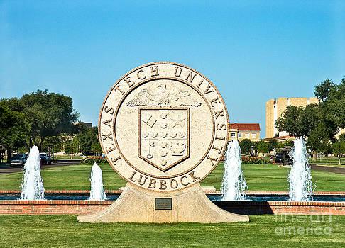 Mae Wertz - Classical Image of the Texas Tech University Seal