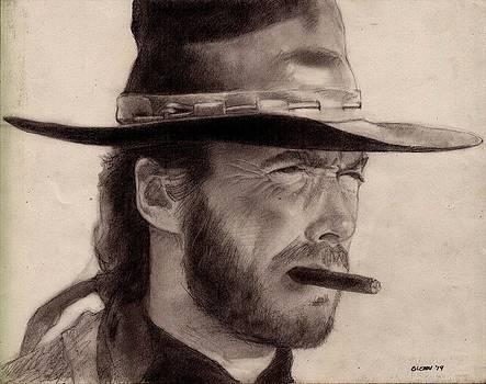 Clint Eastwood by Glenn Daniels