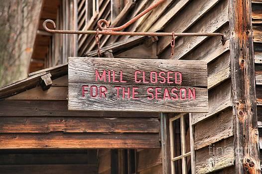 Adam Jewell - Closed For The Season