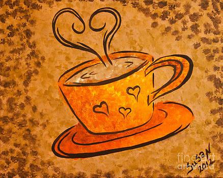 Coffee Love by Susan Cliett