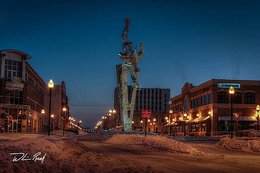 Cold Muskegon Morning by William Reek
