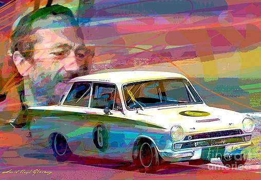 David Lloyd Glover - Colin Chapman Lotus Cortina
