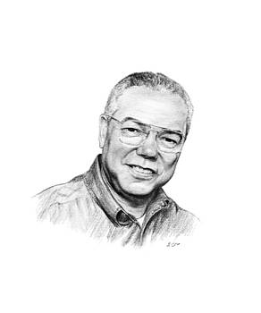 Colin Powell by Lou Ortiz