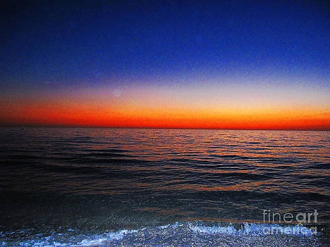Colorful Sunset Sky by Zsuzsa Lado